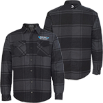 DRAG SPECIALTIES PLAID QUILTED JACKET