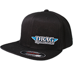 HAT DRAG SPECIALTIES FLAT BRIM