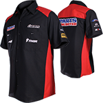 PARTS UNLIMITED SPONSOR BLK/RD